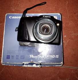Canon power shoot sx150is scound