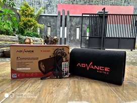 Speaker aktif bluetooth Advance T101BT karaoke Promoo!!