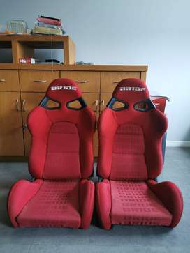 Jok Racing / Racing Seat Universal Bride Cuga Red Carbon Original
