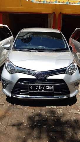 Toyota Calya Type G AT Tahun 2017 Harga 125 jt Nego DP 10 Jt