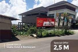 Tanah dijual samping Hotel Nava Tawangmangu