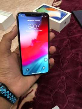 iPhone X 256 GB Silver - 10 conditions