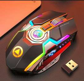 Silent RGB Rechargable Wireless Gaming Mouse imported from Hong Kong