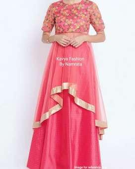 Indo Western Ethnic Dress