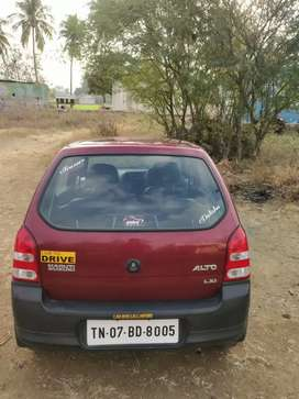 Second owner 2009 Alto petrol 65000 km rasipuram