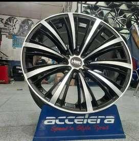 Velg Mobil Racing HSR QUICK Ring 17 Lebar 75/9 ET42/38 Untuk Veloz