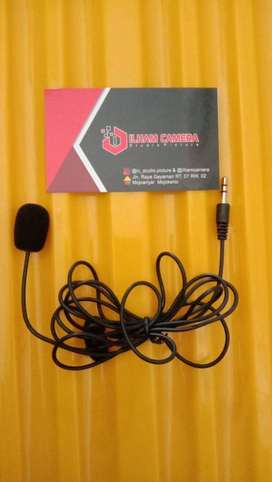 3.5mm Microphone with Clip for Smartphone / Laptop / Tablet PC - SR-50