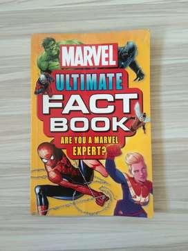 Buku Marvel Ultimate Fact Book Are You A Marvel Expert Original