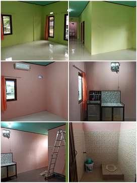 Rumah sewa 2 kamar murah bersih aman nyaman