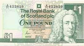 Uang Kertas New Old Stock