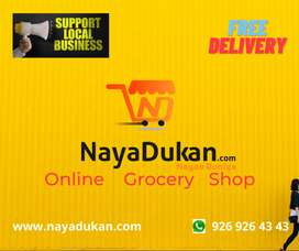 Nayadukan online grocery shop