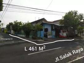 Dijual SHM luas 461 m² rumah pribadi