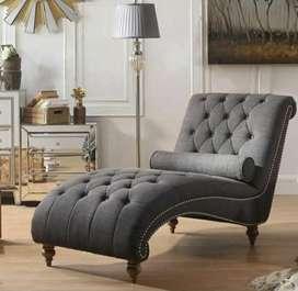 Sofa malas/ kursi jok bludru mewah