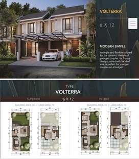 Rumah Citraland northwest park baru gress murah dp 15 juta saja