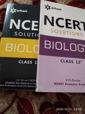 Arihant ncert solutions Biology  class XI & XII