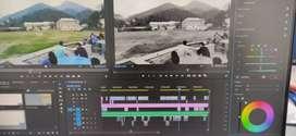 Hire me am freelance video editor