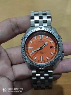 "Seiko Scuba Diver's""Pepsi"", tipe7002-7000 seri460183 Automatic, Japan."