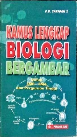 Kamus lengkap biologi bergambar