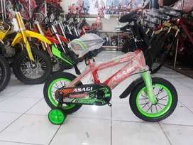Sepeda BMX anak Asagi 12 inch
