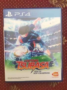 Jual Kaset bd ps4 Captain tsubasa rise of champions Dlc utuh