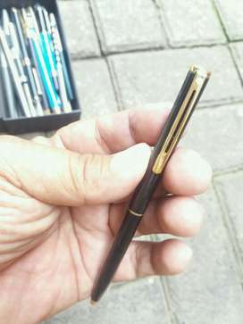 ballpoint slim black gold sheaffer usa ada gravir bank mandiri antik