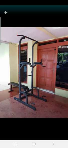 Alat olah raga pull up bench
