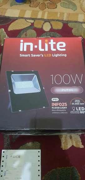 Lampu in-Lite 100W Putih IP65