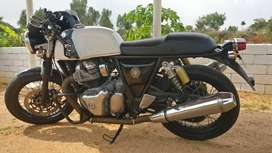 Brand new Royal Enfield 650 Continental GT 2019 2800 Km Driven