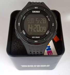 Skmei 1219 original sportywatch waterresist jam tangan malang free cod