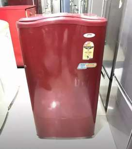Lateat model godrej single door maroon color fridge with star ratings