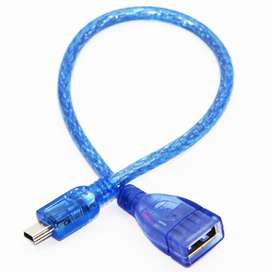 Kabel OTG Mini Usb 5pin To Usb Female