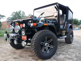 Modified Hunter open Willys jeeps