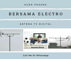 Toko pemasangan sinyal antena tv murah bogor timur