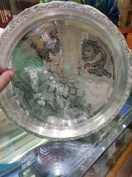 Silver plates and silver jewellery at low fare
