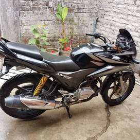 Very well maintained motorcycle