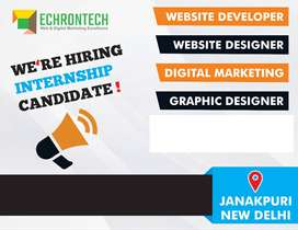 Digital Marketing  and Core PHP Internship