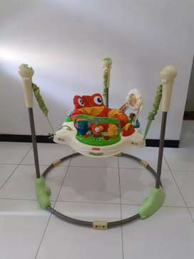 Jumperoo fisher price rain forest