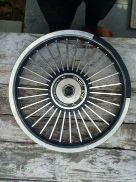 bullet 350 classic alloy wheels