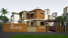 Designer 3 BHK villa projects in Puliyannam , Angamaly