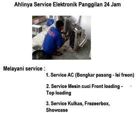 Jagonya servis Ac isi freon mesin cuci kompor tanam ARISTON/panggilan