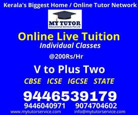 Online/Home Tutors available across Kerala