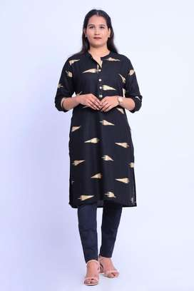Jaipur print rayon cotton kurtis, plazzo pant, skirts availabl