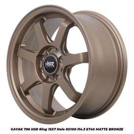 velg racing R15 buat mobil nissan march