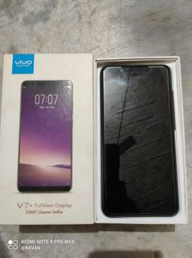Vivo v7 plus  storage 4/64  in good condition buy in 22000 thausand