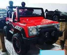 Mobil aki mainan jeep rocky break baru fullset stok ready