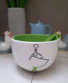 mangkok keramik premium