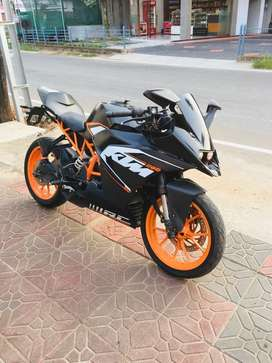RC 200 with stock condition on perfect engine side