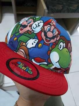 H&M Super Mario Bros topi anak 4-8Y