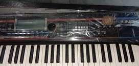Roland Juno G keyboard on display