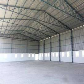Sale and Rent!! Fully developed shed in industrial area maksi.